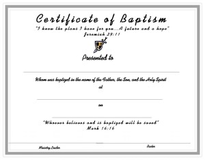 printable baptism certificate template - certificate template for kids free printable certificate