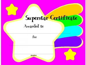 Certificate Template for Kids Free Printable Certificate Templates for ...